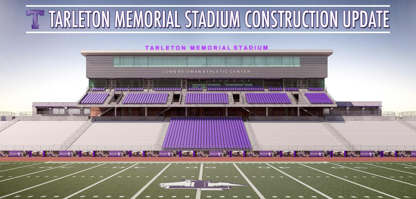 Memorial Stadium Renovation Begins With New Turf Tarleton State