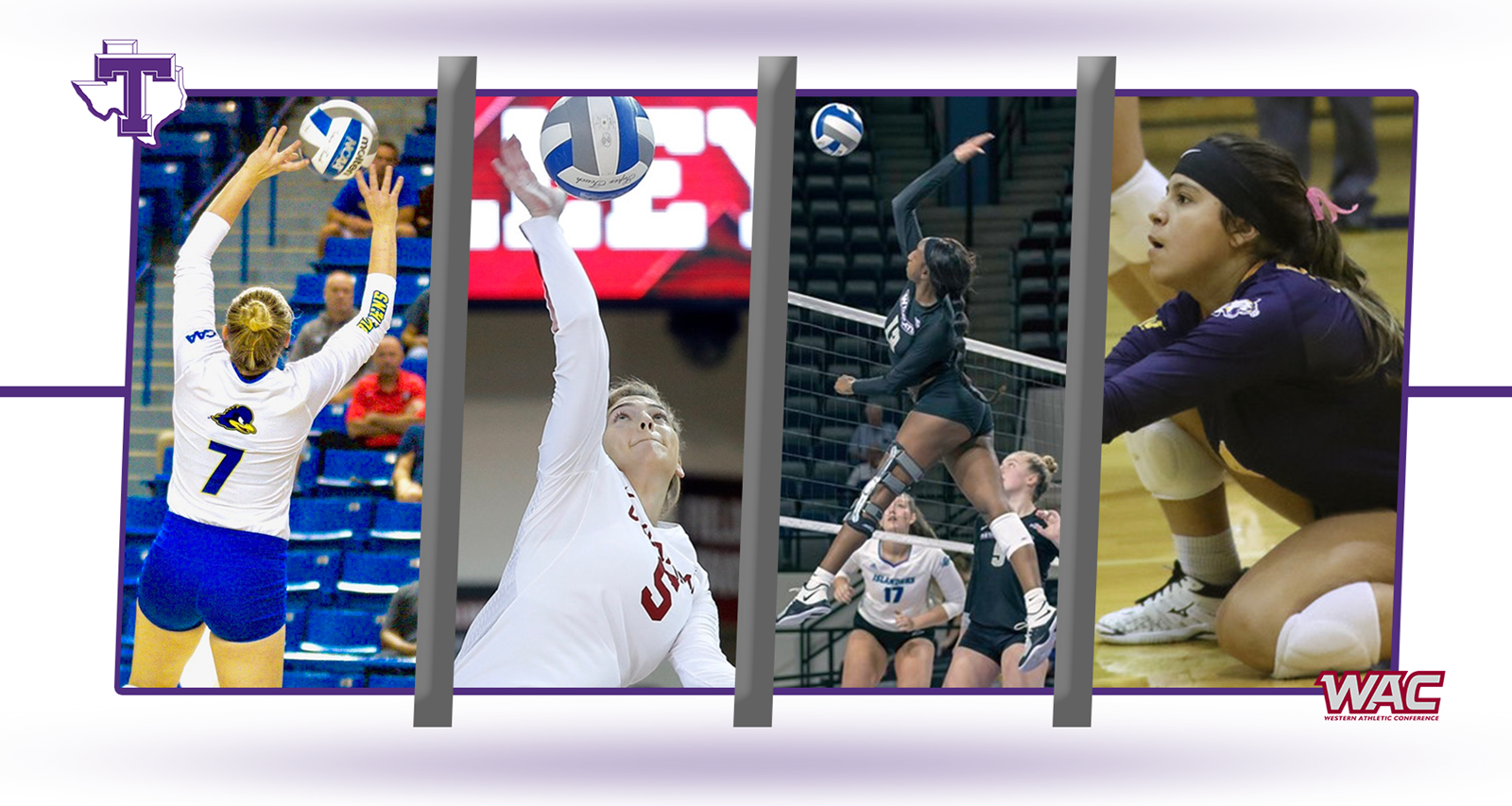 Texan Volleyball Begins First Division I Recruiting Class With Four Transfers Tarleton State University Athletics